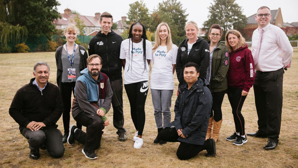 European Week of Sport: British athlete visits London school to reward active teachers