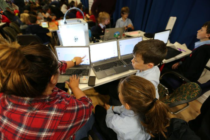 UK Code Week: Pupils launch national coding campaign