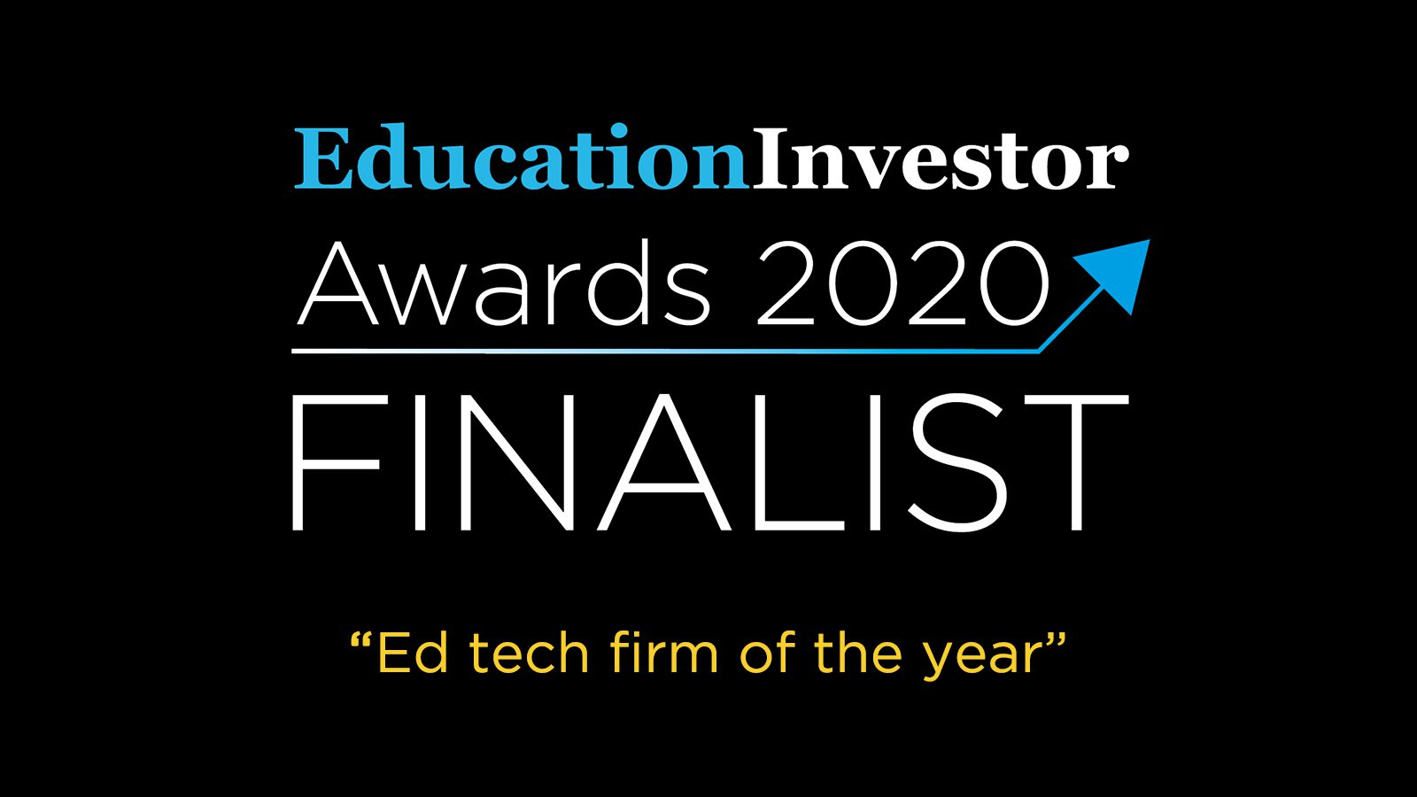Education Investor Awards 2020: Discovery Education announced as Grand Prix finalist