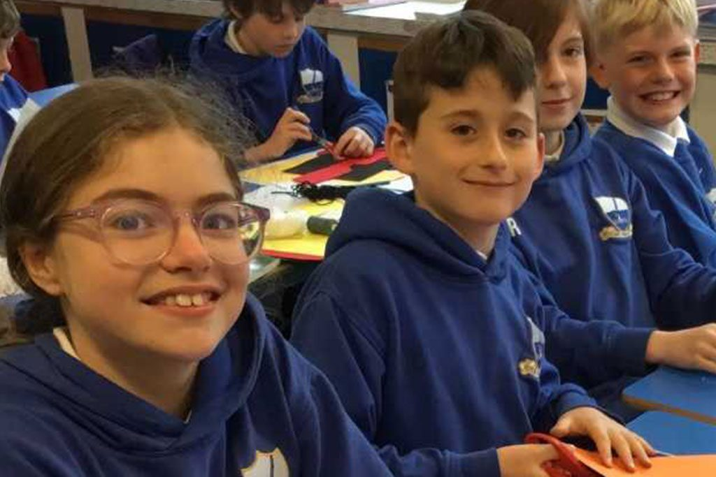Moving on up: Digital programme helps kids get ready for secondary school transition