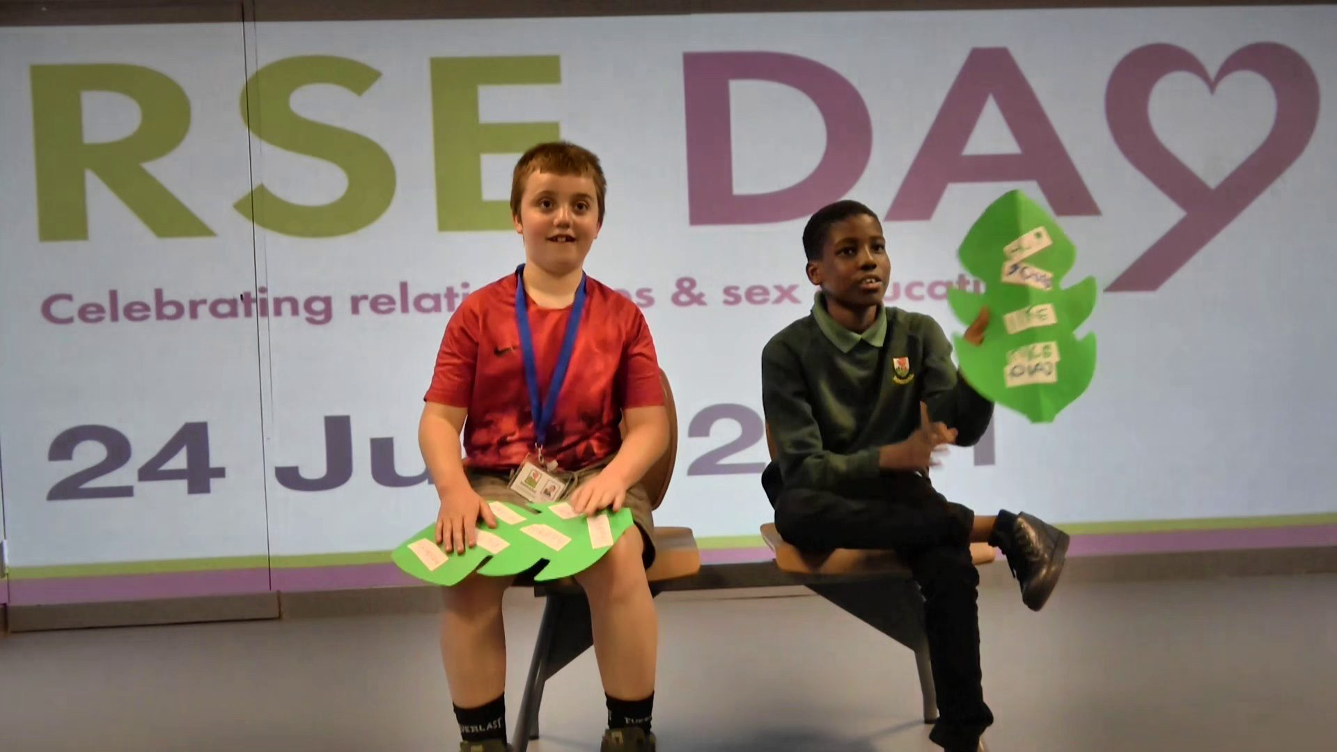 Nottingham pupils take centre stage at National 'RSE Day' livestream event